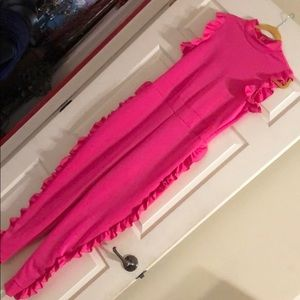 Very cute Diva Style Plus size Fuchsia Jumpsuit